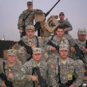 The Spartans Chris's platoon, I posted so that you can see how young our men are, they still need our support.